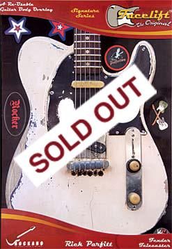 Facelift By Rockano Stratocaster Telecaster Fender Licensed Guitar Body Overlay